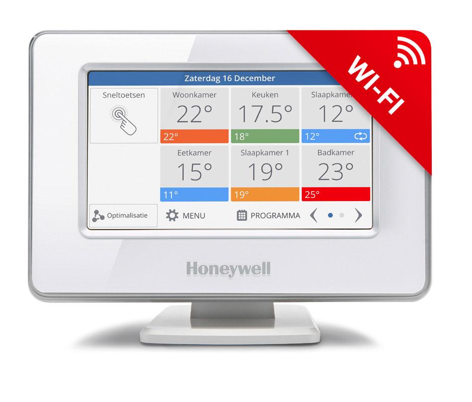 Beroemd Honeywell Evohome Wi-Fi ATC928G3000 | Verwarmen per kamer XZ39