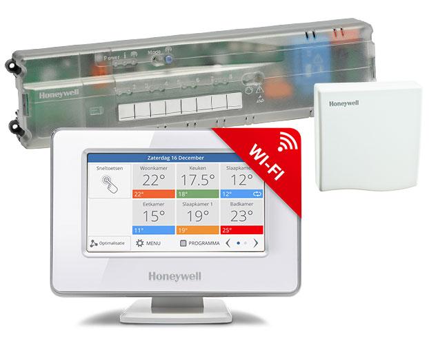 Bekend Honeywell Evohome WiFi vloerverwarming pakket ATP928G3074 WK53