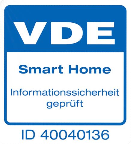 SmartHome VDE certificaat