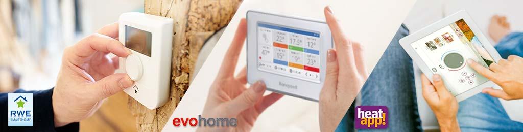 Vergelijk en kies de beste slimme thermostaat. SmartHome, Evohome of Heatapp