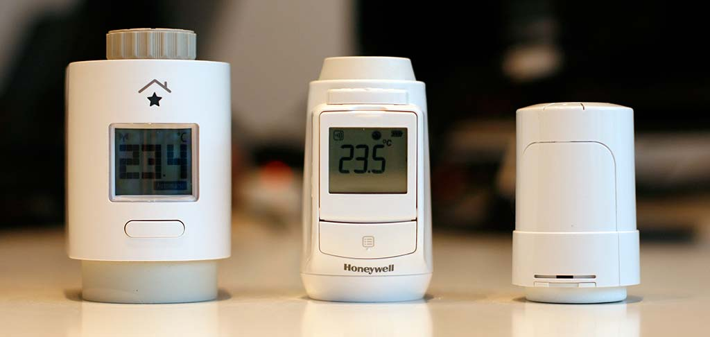 innogy SmartHome RST, Honeywell HR92 en Heatapp! Drive