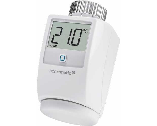 Een slimme thermostaatknop voor zoneregeling met radiatoren. Een slimme thermostaatknop kan de toevoer van warm water naar de radiator nauwkeurig regelen.