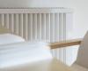 De elektrische radiator is afgewerkt met een hoogwaardige duurzame poedercoating met licht glanzend oppervlak in kleur wit (RAL 9010).