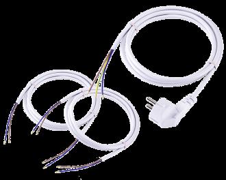 De aansluitkabel set voor de Homematic IP CV-ketel en warmtebron module bevat alle benodigde kabels om de module professioneel aan te sluiten op de CV-ketel of warmtebron.
