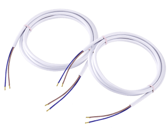 De aansluitkabels dienen voor het op elkaar aansluiten van de module en CV-ketel of warmtebron zelf. De aansluitkabels zijn  1,5 m lang.