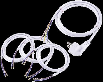De aansluitkabel set voor de Homematic IP warmtepomp module bevat alle benodigde kabels om de module professioneel aan te sluiten op de warmtepomp.