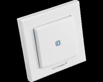 De drukknop kan gebruikt worden als draadloze schakelaar voor verlichting of het activeren en deactiveren van de eco-modus van de verwarming in het hele huis.