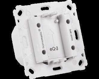 De inbouw voeding vervangt de batterijen die achterin de thermostaat, bewegingsmelder of drukknop nodig zijn.