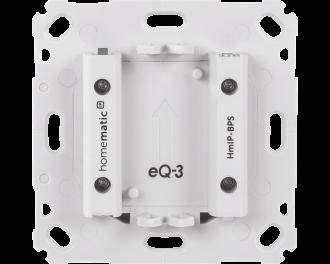 De inbouw voeding is geschikt voor de volgende Homematic IP 55 x 55 mm apparaten: Thermostaat of temperatuursensor, bewegingsmelder, draadloze drukknop tweevoud of zesvoud.