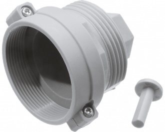 Oventrop radiator adapter waarmee een slimme thermostaatknop gemonteerd kan worden op Oventrop afsluiters.
