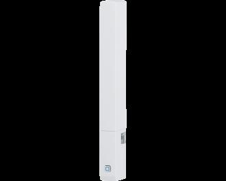 De Homematic IP raam- en deursensor plus detecteert openen en sluiten van ramen en deuren met een optische sensor.
