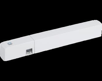 De raam- en deursensor kan gebruikt worden voor alarmfuncties, automatische verlichting en het automatisch verlagen van de temperatuur als er geventileerd wordt in de betreffende ruimte.