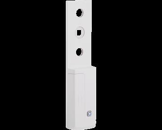 De afmetingen van de raamgreep sensor zijn 3,2 x 14,3 x 1,6 cm (B x H x D).