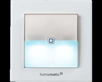Bij gebruik als eco-knop kan de signaallamp groen oplichten als er op de knop gedrukt wordt en het hele huis in de verlaagde temperatuur stand gaat.