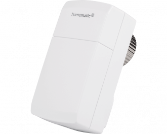De compacte thermostaatknop wordt toegevoegd aan het systeem via het Access Point. Dit is de hub van het Homematic IP systeem.