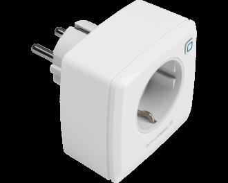 De stekkerschakelaar kan draadloos gekoppeld worden aan Homematic IP thermostaten en bewegingsmelders. Tijdsprofielen en functies voor klimaat, verlichting of beveiliging zijn handig in te stellen via de Homematic IP app.