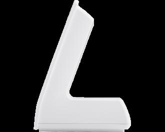 De afmetingen van de tafelstandaard zijn 7,9 x 9,0 x 6,7 cm.