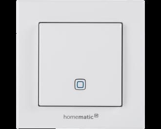 De temperatuursensor is uitgevoerd in 55 x 55 mm formaat en kan geintegreerd worden in systeem 55 schakelmateriaal van bekende merken.