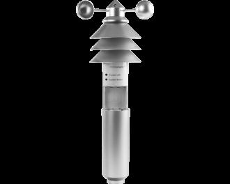 Het Homematic IP weerstation basis werkt gemiddeld 1 jaar op 3 AA penlite batterijen. Batterijen worden meegeleverd. De afmetingen van het weerstation zijn 15 x 42 x 15 cm (B x H x D).