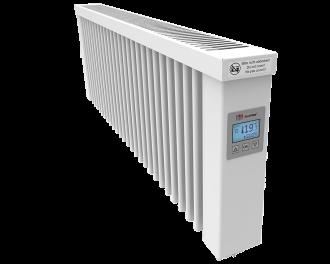 Thermotec liggende elektrische radiator 1200 watt, met ingebouwde thermostaat. Geschikt voor ruimtes tot 29 m3 in een ongeïsoleerde woning tot bouwjaar 1975 met energielabel D of lager, of 40 m3 in een matig geïsoleerde woning tot bouwjaar 2005 met energielabel C, of 55 m3 in een goed geïsoleerd woning tot bouwjaar 2021 met energielabel B of hoger.