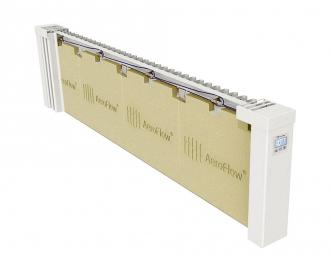 De kern van de radiator is gemaakt van vuurvaste chamottesteen / kleisteen. Chamottesteen warmt binnen 10 minuten op en kan gedurende 40 minuten warmte blijven afgeven.