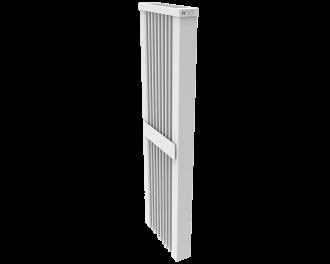 Thermotec elektrische badkamer radiator 1600 watt, zonder ingebouwde thermostaat. Geschikt voor ruimtes tot 38 m3 in een ongeïsoleerde woning tot bouwjaar 1975 met energielabel D of lager, of 53 m3 in een matig geïsoleerde woning tot bouwjaar 2005 met energielabel C, of 73 m3 in een goed geïsoleerd woning tot bouwjaar 2021 met energielabel B of hoger.