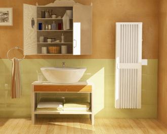 De elektrische badkamer radiator is met name geschikt voor gebruik in badkamers en vochtige ruimtes.