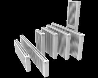 Overzicht van alle Thermotec elektrische radiatoren zonder ingebouwde thermostaat.