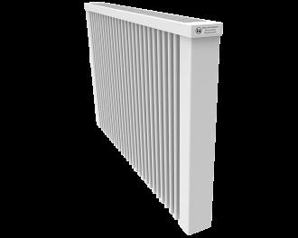 Thermotec elektrische radiator 1950 watt, zonder ingebouwde thermostaat. Geschikt voor ruimtes tot 46 m3 in een ongeïsoleerde woning tot bouwjaar 1975 met energielabel D of lager, of 65 m3 in een matig geïsoleerde woning tot bouwjaar 2005 met energielabel C, of 89 m3 in een goed geïsoleerd woning tot bouwjaar 2021 met energielabel B of hoger.