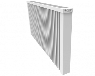 Thermotec elektrische radiator 2450 watt, zonder ingebouwde thermostaat. Geschikt voor ruimtes tot 58 m3 in een ongeïsoleerde woning tot bouwjaar 1975 met energielabel D of lager, of 82 m3 in een matig geïsoleerde woning tot bouwjaar 2005 met energielabel C, of 111 m3 in een goed geïsoleerd woning tot bouwjaar 2021 met energielabel B of hoger.