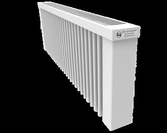 Thermotec liggende elektrische radiator 1200 watt, zonder ingebouwde thermostaat. Geschikt voor ruimtes tot 29 m3 in een ongeïsoleerde woning tot bouwjaar 1975 met energielabel D of lager, of 40 m3 in een matig geïsoleerde woning tot bouwjaar 2005 met energielabel C, of 55 m3 in een goed geïsoleerd woning tot bouwjaar 2021 met energielabel B of hoger.