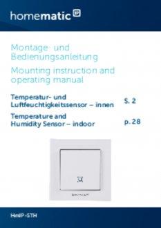 Handleiding van Homematic IP Temperatuursensor