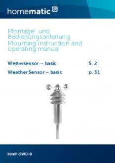 Handleiding van Homematic IP Weerstation basis