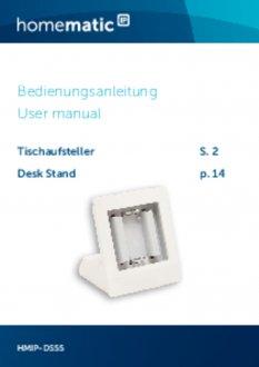 Handleiding van Homematic IP Tafelstandaard