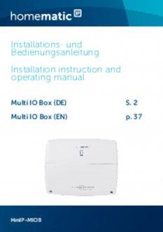 Handleiding van Homematic IP Warmtepomp module