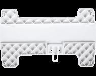 Het Homematic IP DIN-rail montagevlak voor warmtepomp module is bedoeld voor snelle montage van de warmtepomp module op een professionele DIN-rail.