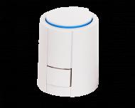 Universele thermische motor. Geschikt voor SmartHome (24V) en Evohome of Heatapp (230V). Wordt geleverd met 3 adapters voor alle populaire vloerverwarming verdelers