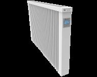 Thermotec elektrische radiator 1950 watt, met ingebouwde thermostaat. Geschikt voor ruimtes tot 46 m3 in een ongeïsoleerde woning tot bouwjaar 1975 met energielabel D of lager, of 65 m3 in een matig geïsoleerde woning tot bouwjaar 2005 met energielabel C, of 89 m3 in een goed geïsoleerd woning tot bouwjaar 2021 met energielabel B of hoger.